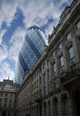 St Mary axe skyscraper — 图库照片