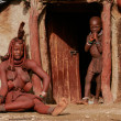 Himba family, Namibia — Stock Photo #12657115
