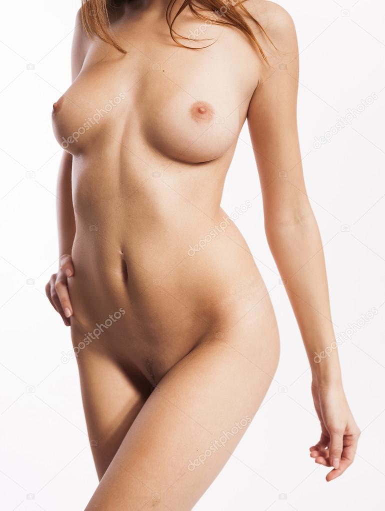 Perfecto cuerpo de mujer desnuda