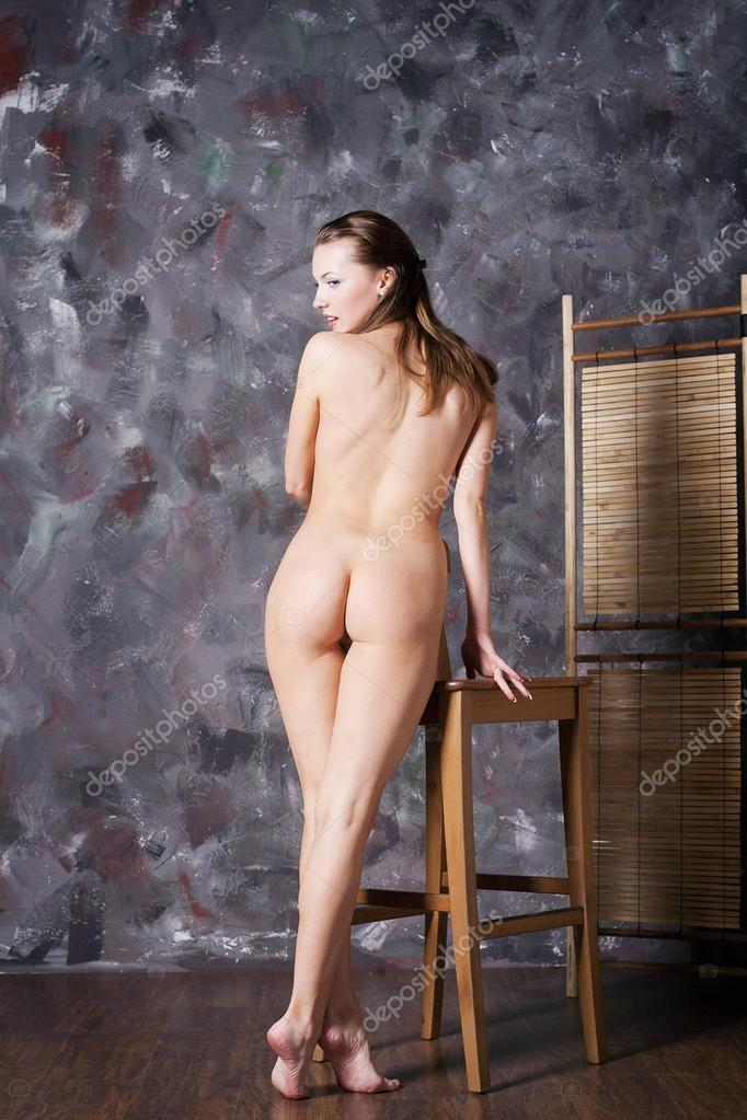 Naked Young Woman Stock Aleander Lobanov Filmvz Portal