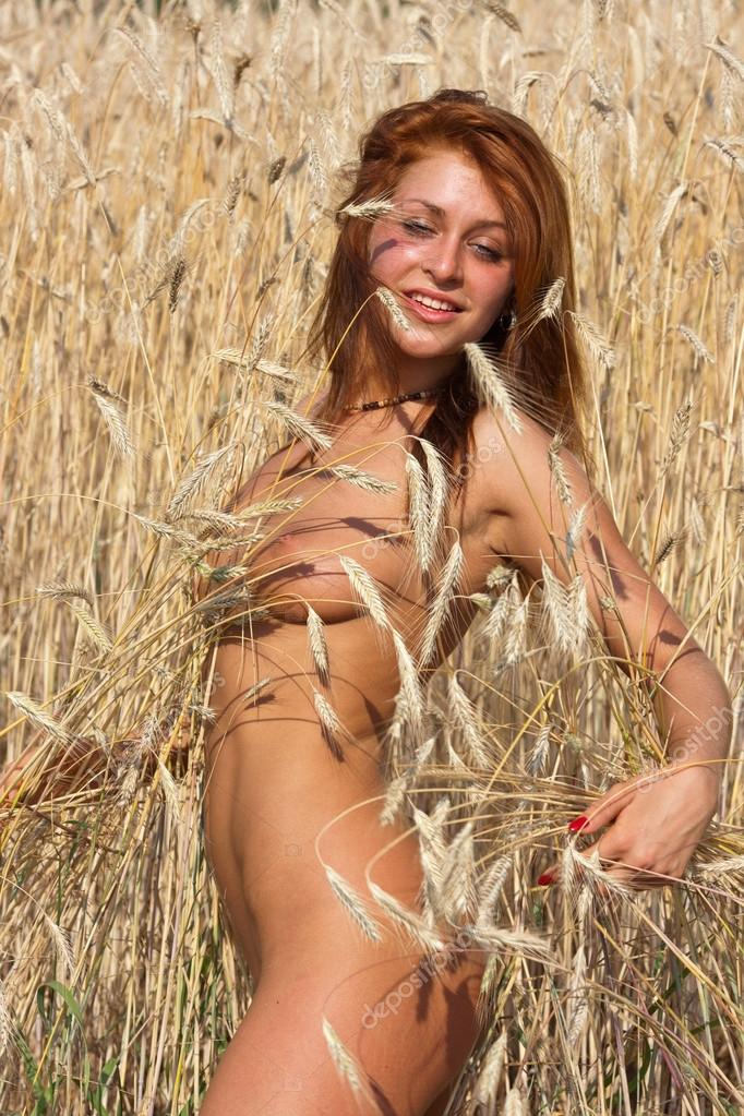 Nude Girl Stock