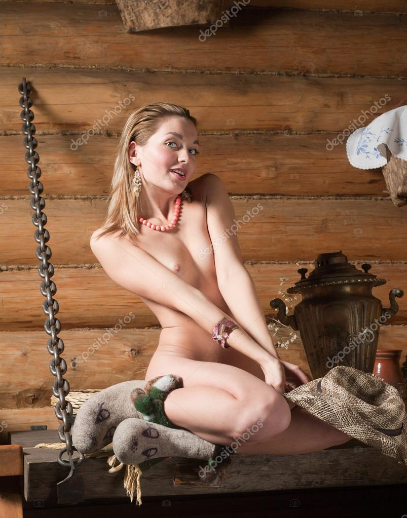 Nude Girl In The Village Stock Aleander Lobanov Filmvz Portal