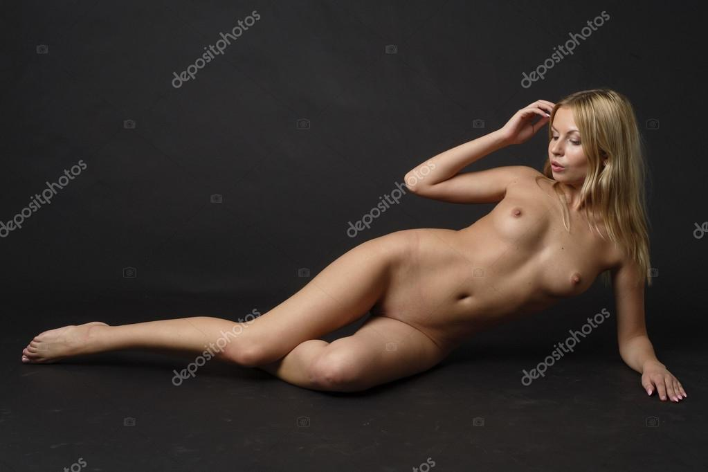 Images Of Naked Young Woman Stockfoto
