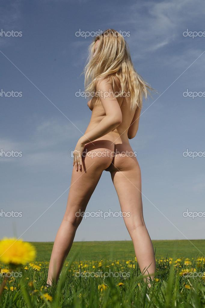 Beautiful Nude Girl Stock Aleander Lobanov