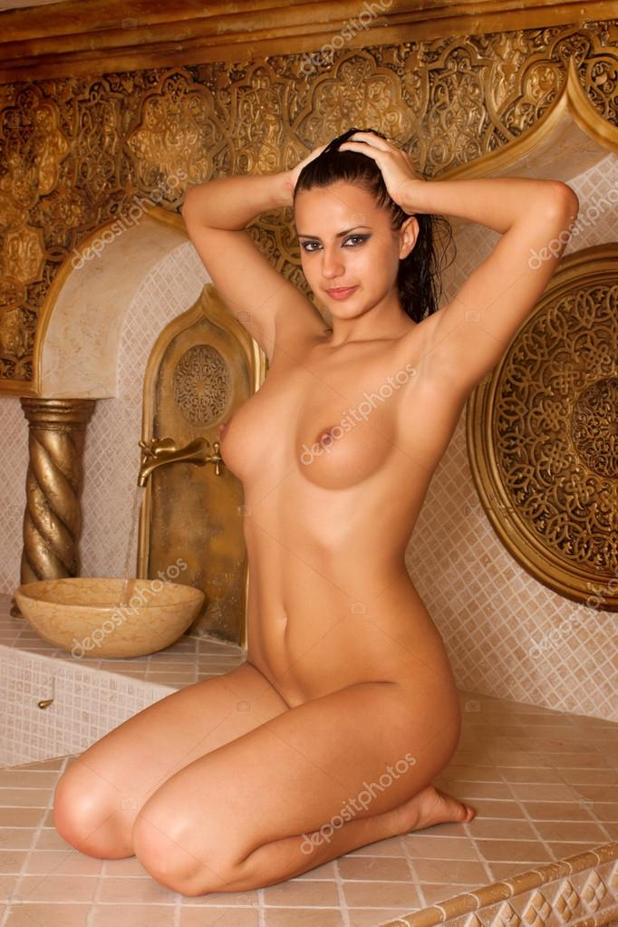 bath girl Turkish