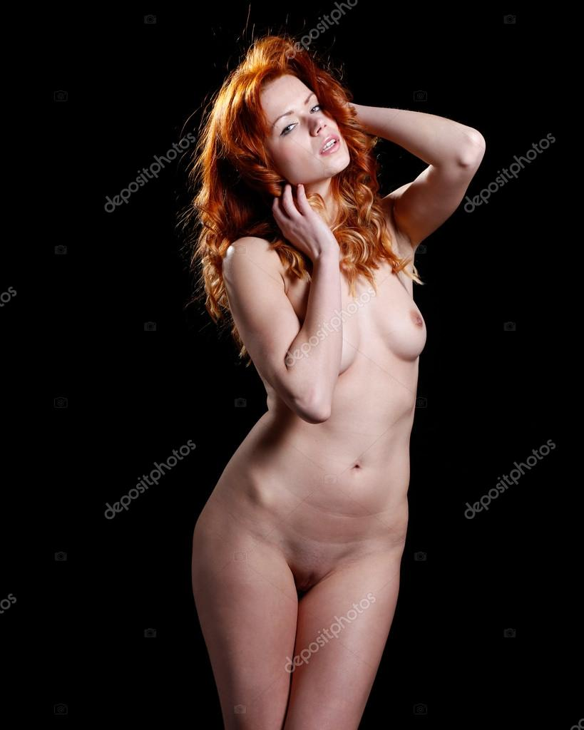 stockfoto sexy nacktes mdchen glas rotwein image