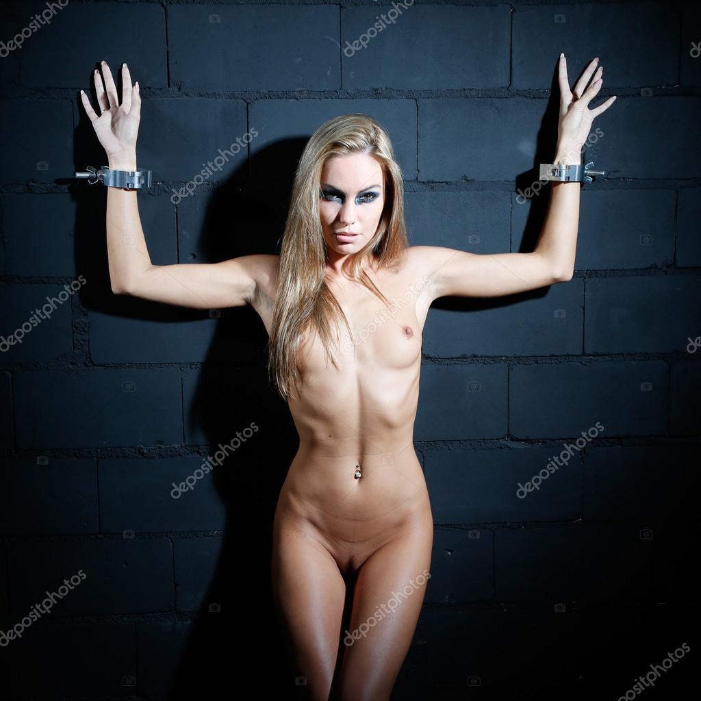 naked lady in bondage
