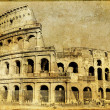Stock Photo: Colosseum - italian landmarks series