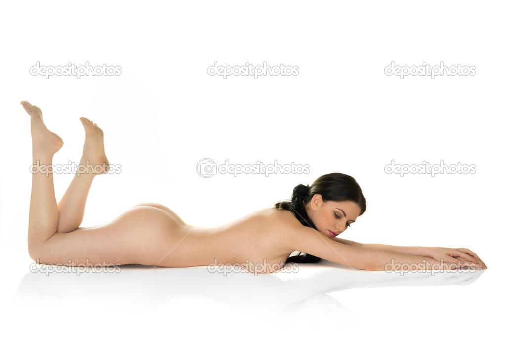 Naked Woman Lying Stock Yujizz 1