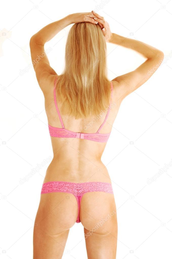 фотохудых женщин в нижним белье