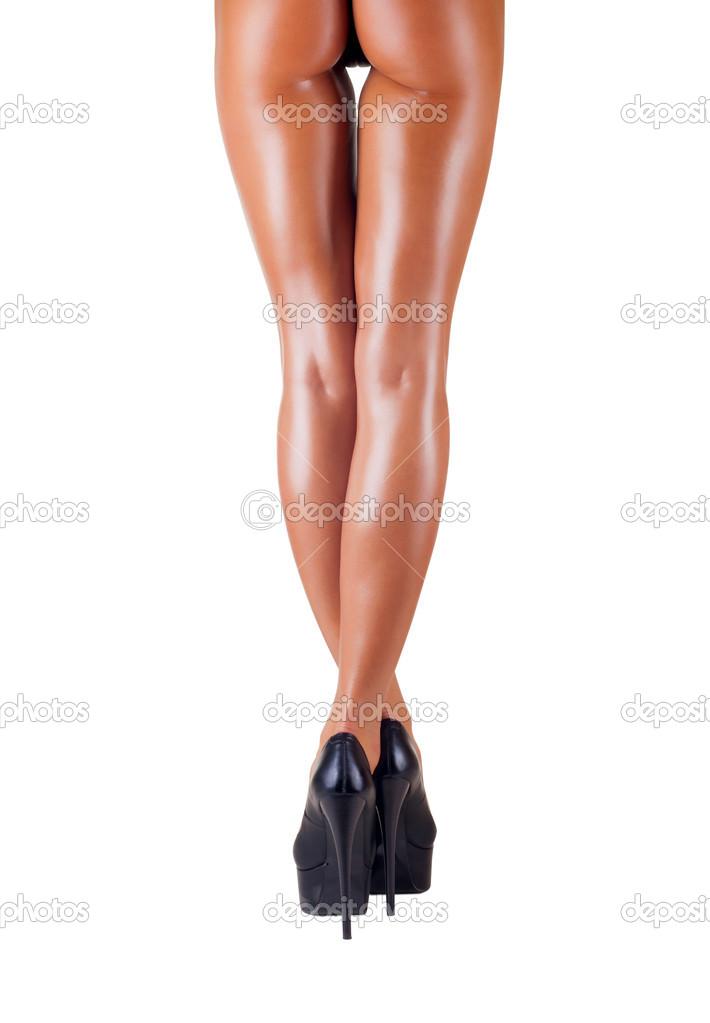 женские ножки вид сзади