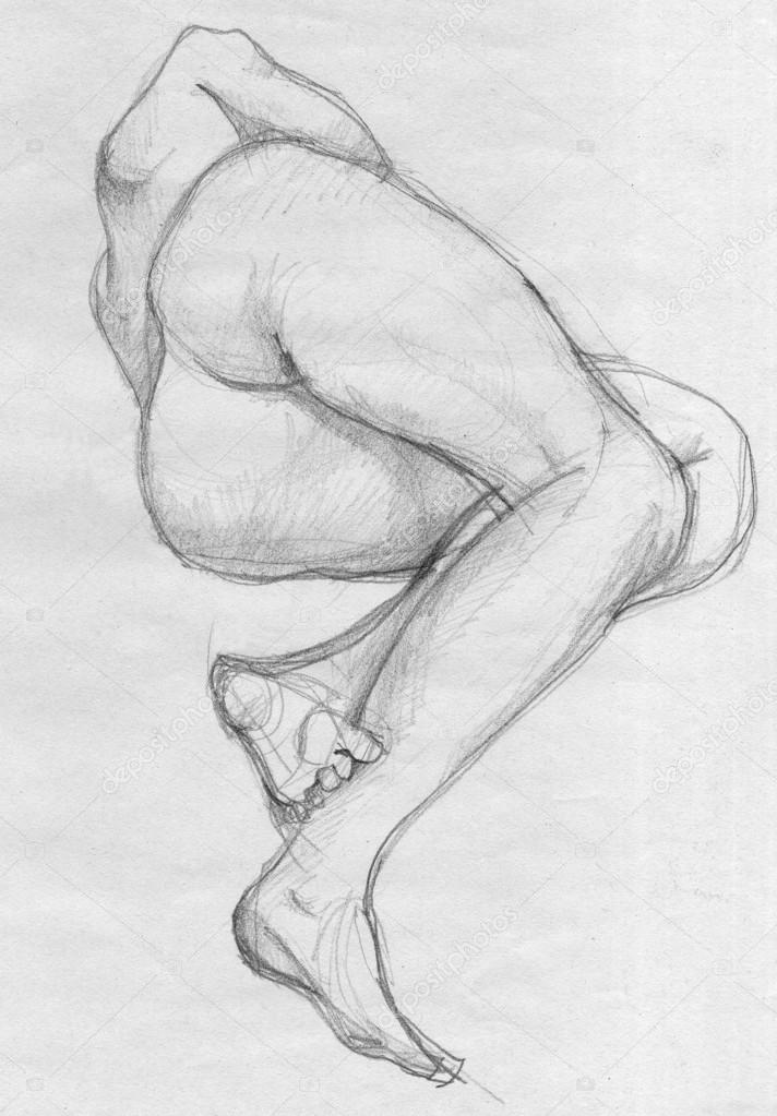 Как рисовать людей голых добавить