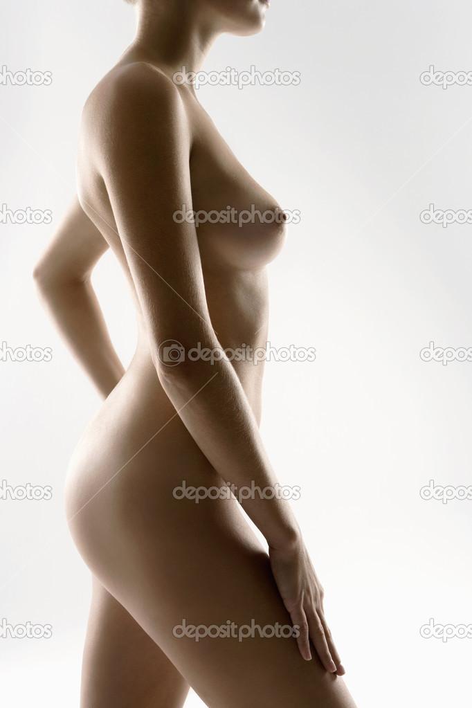 девушки голые в профиль картинки
